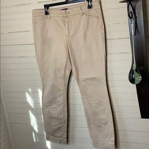 Gap Khaki Tan Trousers 10R